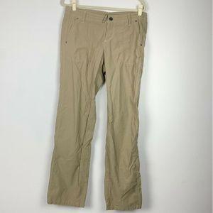 Kuhl khaki Stretch Nylon Outdoor Hiking Pants